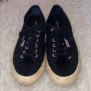 Black Superga Sneakers